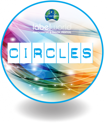 An image of circle Label