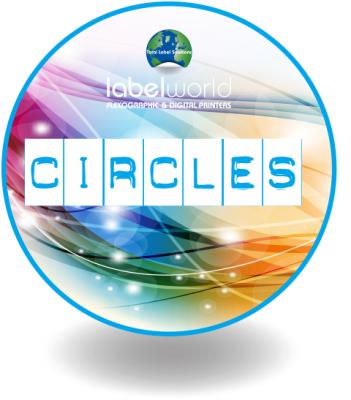 An image of circle Label