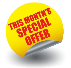 Special Offer for the Month