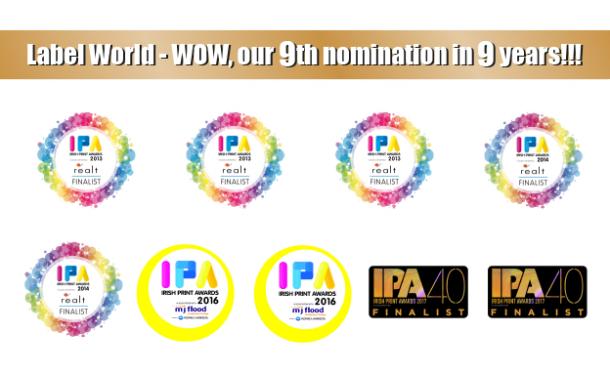 Irish Print Award Nominations