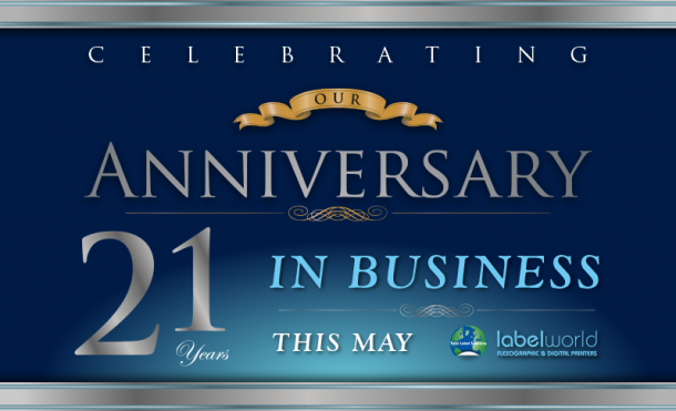 21 Years in Business 3