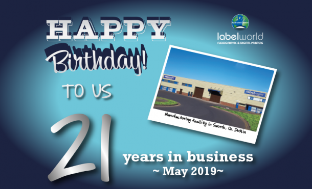 21 Years in Business 1