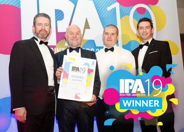 8 Irish Print Awards Winner 2019