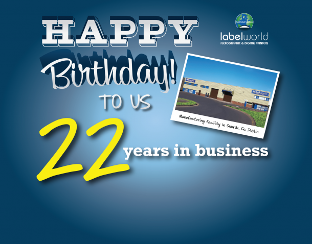22 Years in Business - Founded 1st May 1998