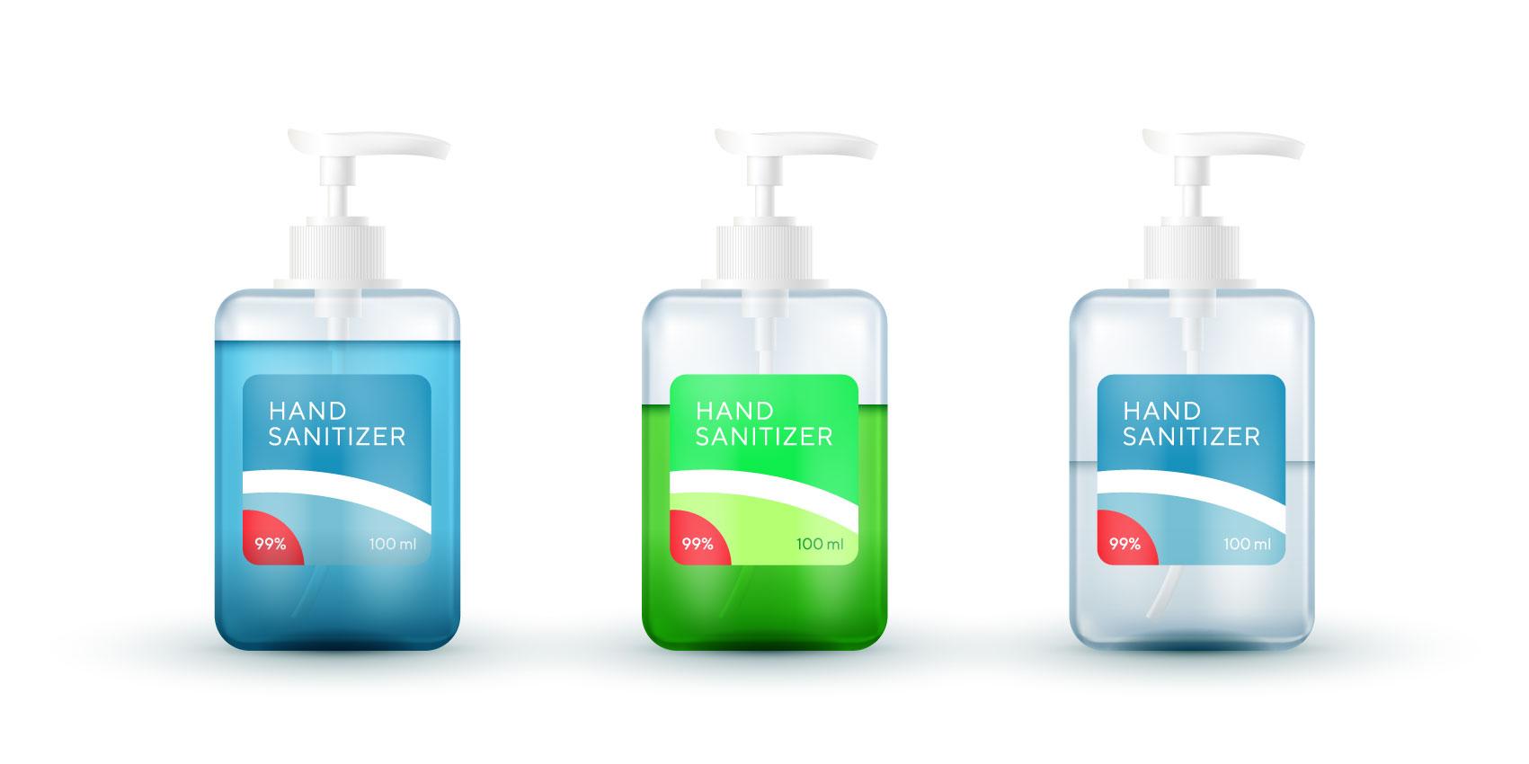 Sanitiser Labels