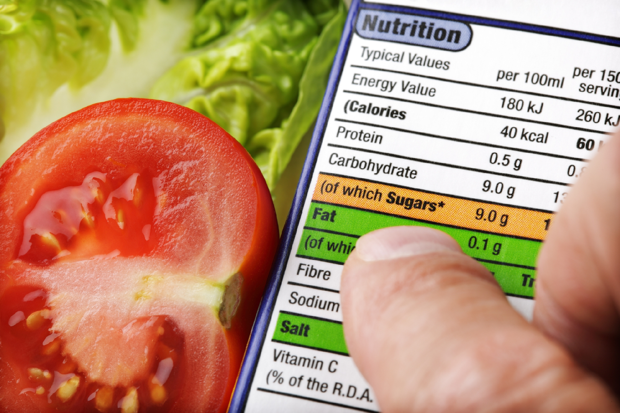 Image of Food  labels