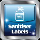 Hand Sanitiser Labels Icon