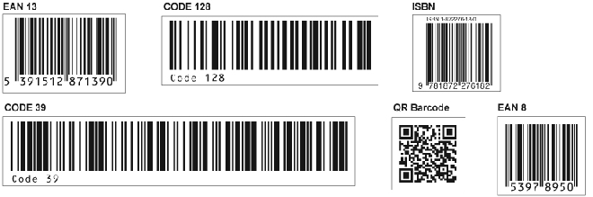 Media Library - Barcodes