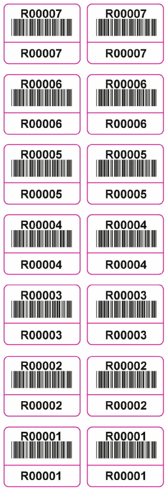 Media Library - Barcode Sample 2