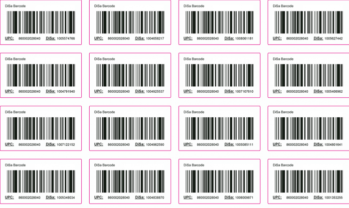 Media Library - DiSa Barcode